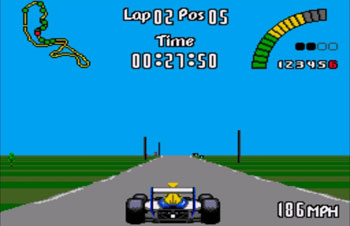 Imagen de la descarga de Nigel Mansell's World Championship Racing