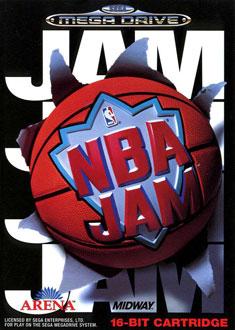 Carátula del juego NBA Jam (Genesis)