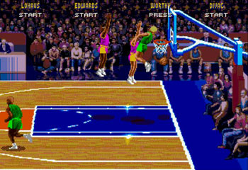 Pantallazo del juego online NBA Jam (Genesis)