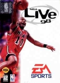 Carátula del juego NBA Live 98 (Genesis)