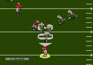 Imagen de la descarga de NFL Football '94 Starring Joe Montana