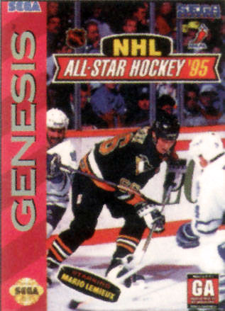 Portada de la descarga de NHL All-Star Hockey '95