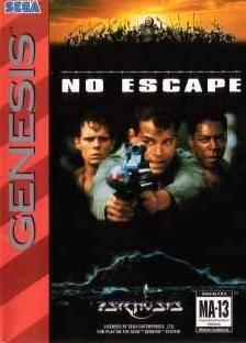 Carátula del juego No Escape (Genesis)