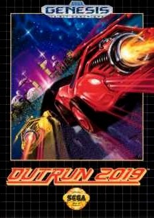 Carátula del juego Out Run 2019 (Genesis)