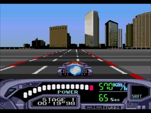 Pantallazo del juego online Out Run 2019 (Genesis)