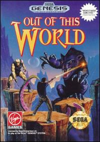 Carátula del juego Out of This World (Genesis)