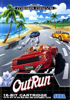 Carátula del juego Out Run (Genesis)