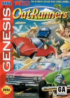 Carátula del juego OutRunners (Genesis)
