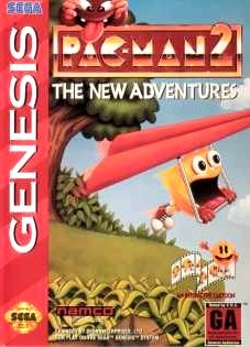 Carátula del juego Pac-Man 2 The New Adventures (Genesis)