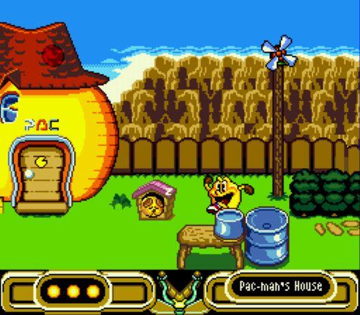 Pantallazo del juego online Pac-Man 2 The New Adventures (Genesis)