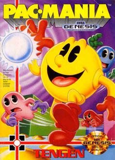 Carátula del juego Pac-Mania (Genesis)