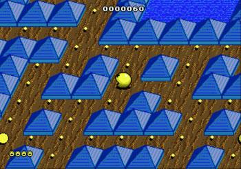 Pantallazo del juego online Pac-Mania (Genesis)