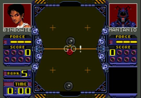 Pantallazo del juego online Paddle Fighter (Genesis)