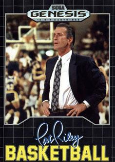 Carátula del juego Pat Riley Basketball (Genesis)