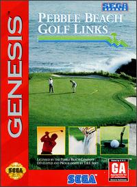 Carátula del juego Pebble Beach Golf Links (Genesis)