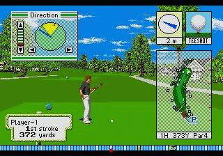 Pantallazo del juego online Pebble Beach Golf Links (Genesis)