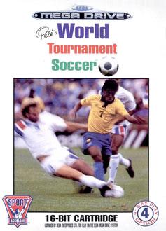 Carátula del juego Pele II World Tournament Soccer (Genesis)