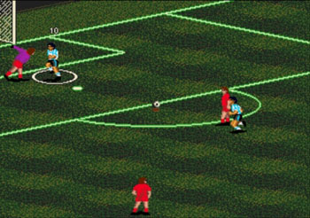 Pantallazo del juego online Pele II World Tournament Soccer (Genesis)