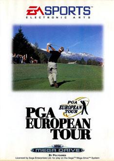 Carátula del juego PGA European Tour (Genesis)