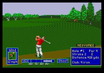 Pantallazo del juego online PGA European Tour (Genesis)