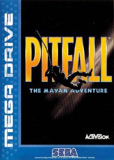 Portada de la descarga de Pitfall: The Mayan Adventure