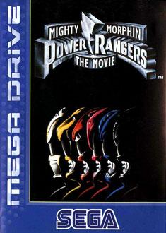 Portada de la descarga de Mighty Morphin Power Rangers: The Movie