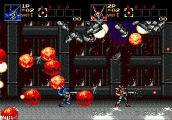 Pantallazo del juego online Probotector (Genesis)