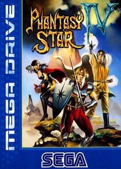 Carátula del juego Phantasy Star IV (Genesis)