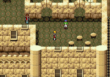 Pantallazo del juego online Phantasy Star IV (Genesis)