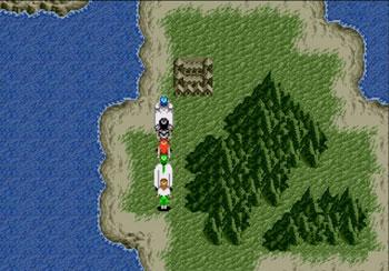 Pantallazo del juego online Phantasy Star III Generations of Doom (Genesis)