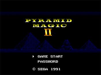 Portada de la descarga de Pyramid Magic II