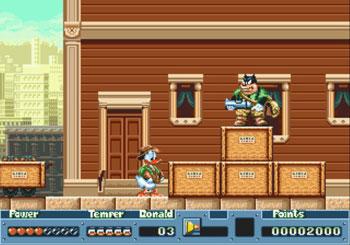 Pantallazo del juego online QuackShot Starring Donald Duck