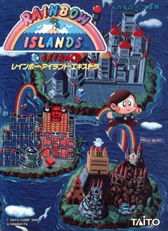 Portada de la descarga de Rainbow Islands Extra