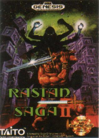Portada de la descarga de Rastan Saga II
