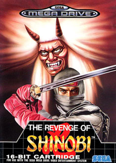 Carátula del juego The Revenge of Shinobi (Genesis)