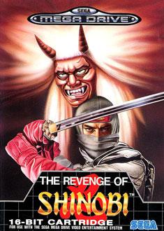 Portada de la descarga de The Revenge of Shinobi