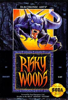 Portada de la descarga de Risky Woods
