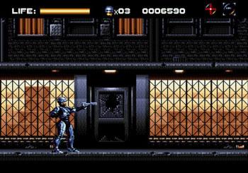 Pantallazo del juego online RoboCop vs The Terminator (Genesis)