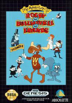 Juego online The Adventures of Rocky and Bullwinkle and Friends (Genesis)