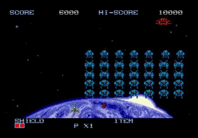 Pantallazo del juego online Space Invaders '91 (Genesis)
