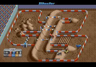 Pantallazo del juego online Super Off Road (Genesis)