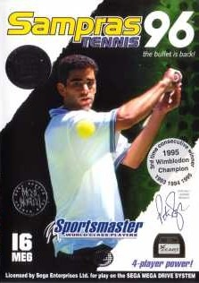 Carátula del juego Pete Sampras Tennis '96 (Genesis)