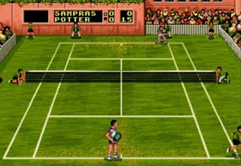 Imagen de la descarga de Pete Sampras Tennis '96