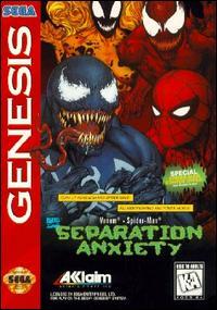 Carátula del juego Separation Anxiety (Genesis)