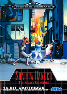 Carátula del juego Shadow Dancer The Secret of Shinobi (Genesis)