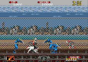 Pantallazo del juego online Shadow Dancer The Secret of Shinobi (Genesis)