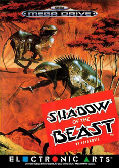 Carátula del juego Shadow of the Beast (Genesis)