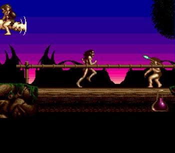 Pantallazo del juego online Shadow of the Beast (Genesis)