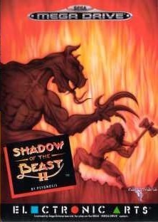 Carátula del juego Shadow of the Beast II (Genesis)