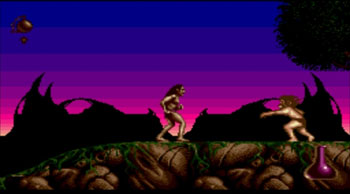Pantallazo del juego online Shadow of the Beast II (Genesis)